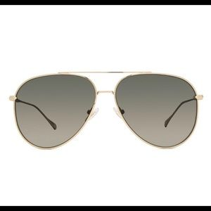 NWT DIFF Sunglasses Nala Gold + G15 Polarized